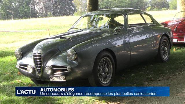 Un concours d'élégance récompense les plus belles voitures