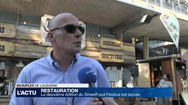 La deuxième édition du StreetFood Festival est lancée