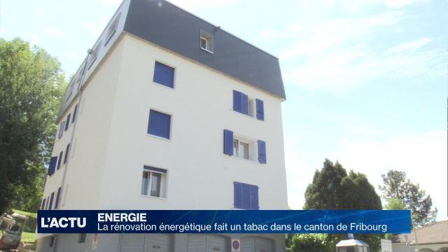 La rénovation énergétique fait un tabac à Fribourg