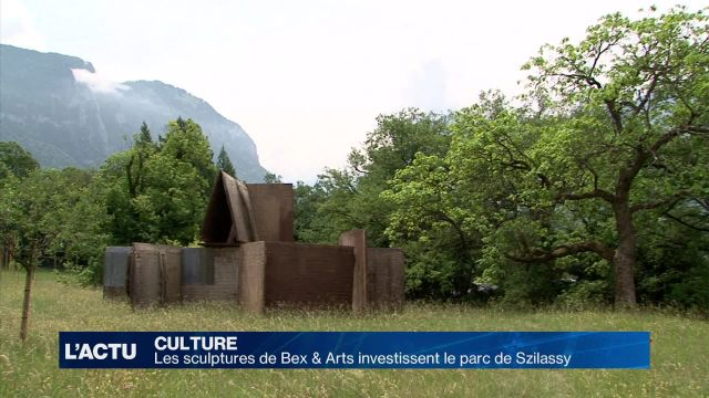 Les sculptures de Bex & Arts investissent le parc Szilassy