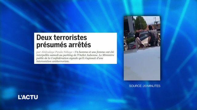 Arrestation musclée de deux suspects liés au terrorisme