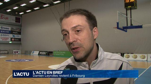 Damien Leyrolles revient à Fribourg