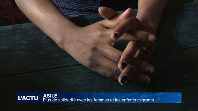 Plus de solidarité avec les femmes et les enfants migrants