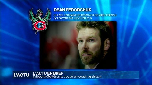 Fribourg-Gottéron a trouvé un coach assistant