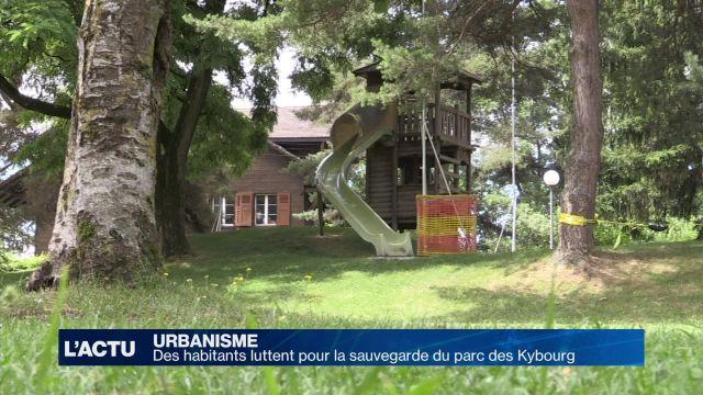 Des habitants luttent pour la sauvegarde du parc des Kybourg
