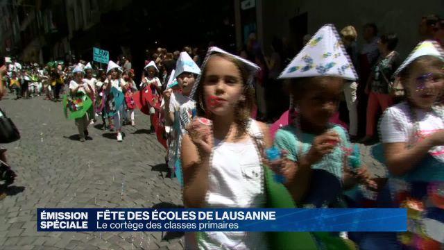 Fêtes des écoles primaires de Lausanne