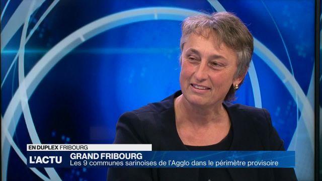 Grand Fribourg : 9 communes dans le périmètre provisoire