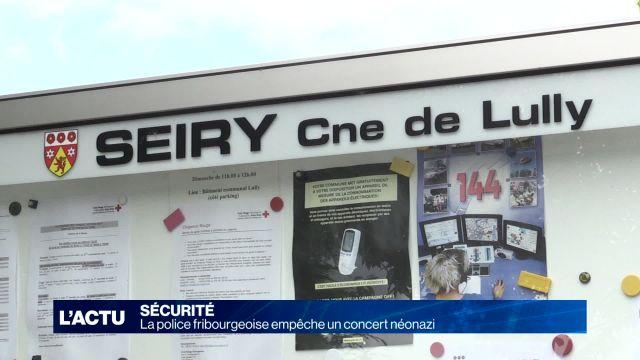Concerts d'extrême-droite annulés par la police à Lully