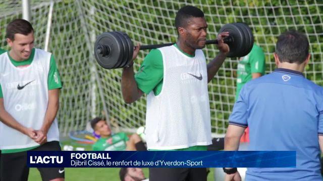 Djibril Cissé, le renfort de luxe d'Yverdon-Sport