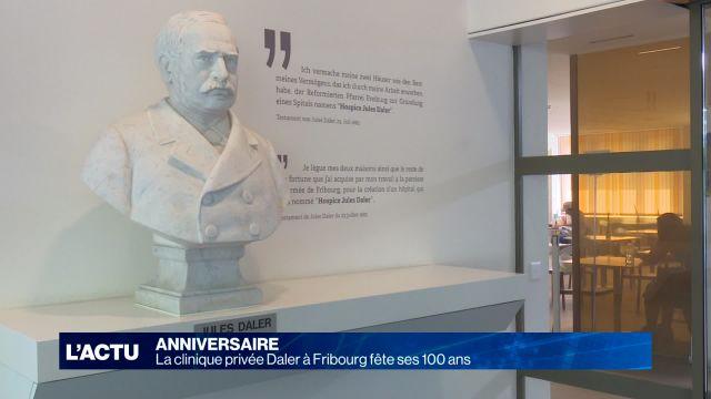La clinique privée Daler à Fribourg fête ses 100 ans