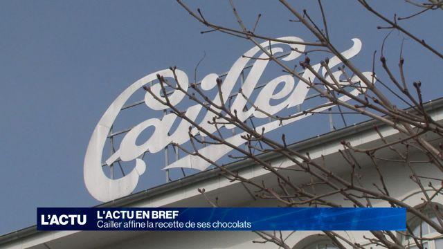 Cailler affine sa recette de chocolat
