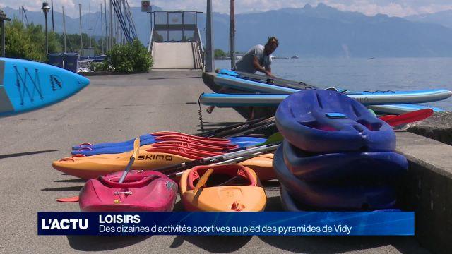 Lausanne sur Mer propose des dizaines d'activités sportives