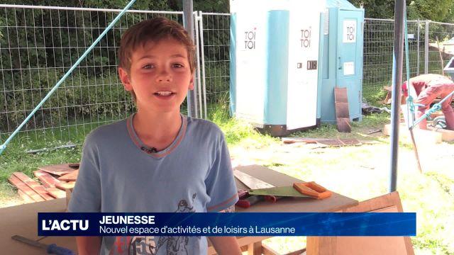 Nouvel espace d'activités et de loisirs à Lausanne