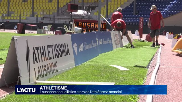 La rencontre internationale d'athlétisme a lieu à Lausanne