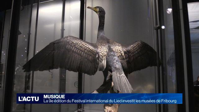 Le Festival du Lied investit les musées à Fribourg