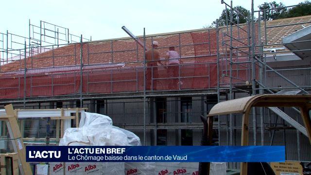 Le Chômage baisse dans le canton de Vaud