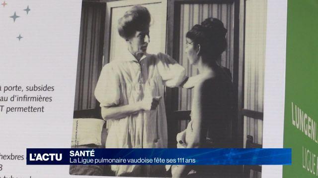 La Ligue pulmonaire vaudoise fête ses 111 ans