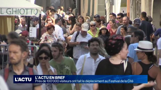 100'0000 visiteurs au 46ème Festival de la Cité à Lausanne