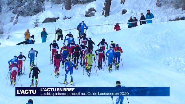 Le ski alpinisme introduit aux JOJ de Lausanne en 2020