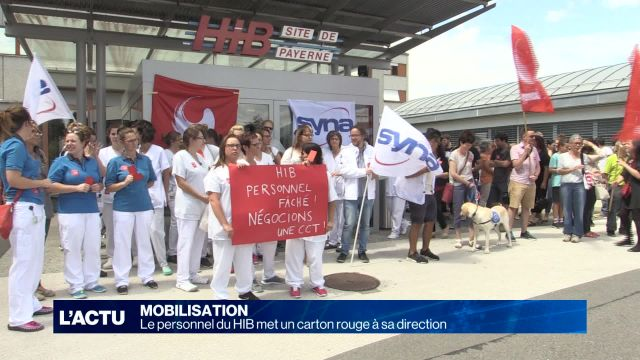 Le personnel du HIB met un carton rouge à sa direction