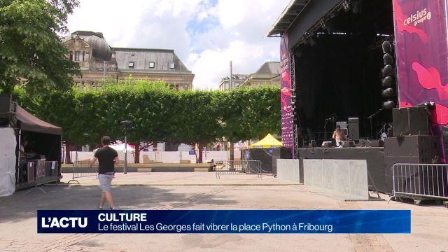 Les Festival les Georges à Fribourg est lancé
