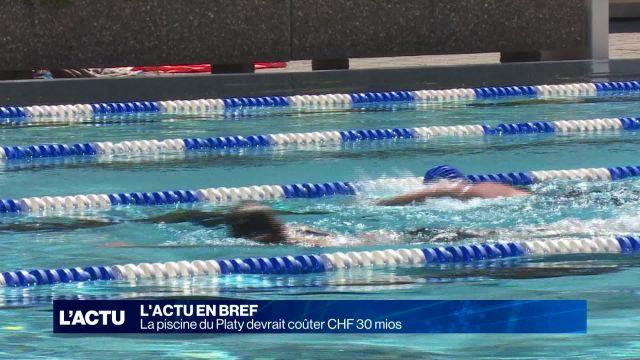 La piscine du Platy devrait coûter CHF 30 mios