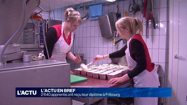 2640 apprentis ont reçu leur diplôme à Fribourg