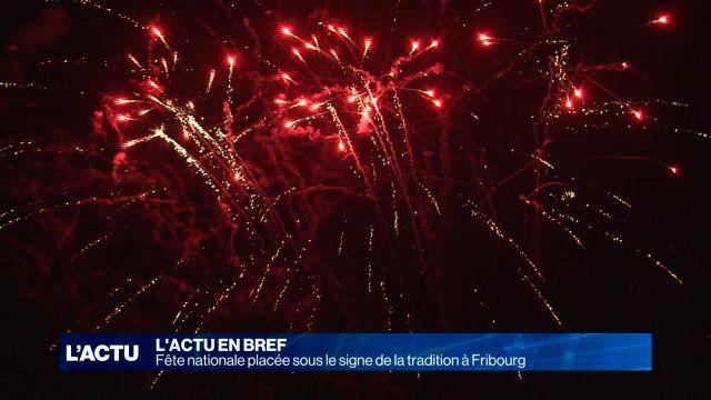 Fribourg retourne vers la tradition pour la fête nationale