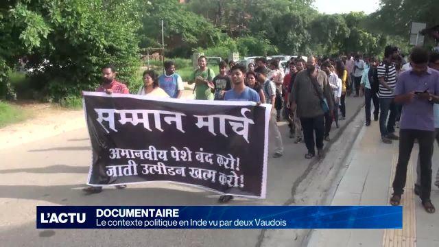 Le contexte politique en Inde vu par deux Vaudois