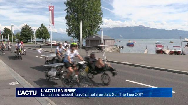 Le Sun Trip Tour 2017 est passé par Lausanne
