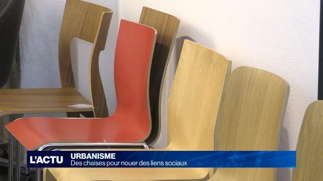 Des chaises au Bourg pour nouer des liens sociaux