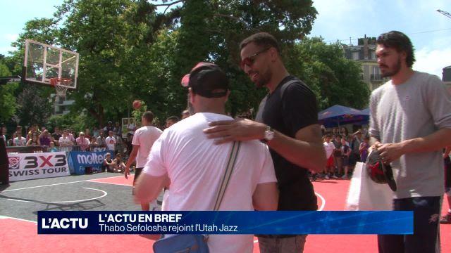 Thabo Sefolosha rejoint l'Utah Jazz