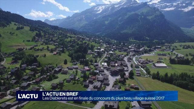 Les Diablerets peut devenir le plus beau village suisse 2017