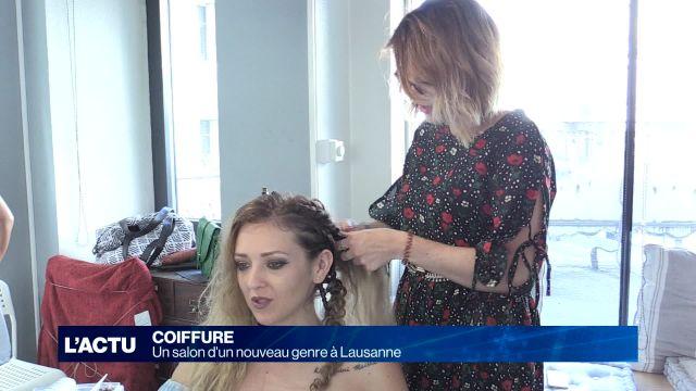 Un salon de coiffure d'un nouveau genre en projet à Lausanne