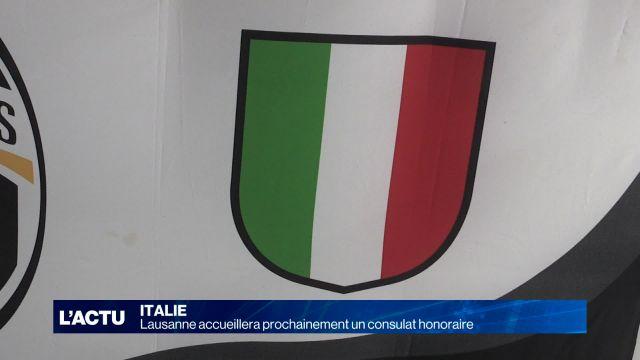 Lausanne accueillera bientôt à nouveau un Consulat italien