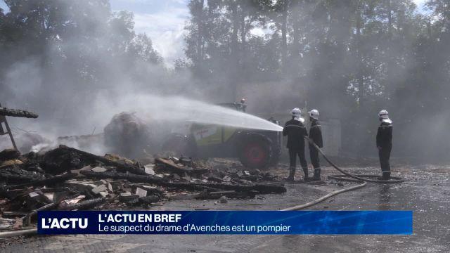 Le suspect du drame d'Avenches est un pompier