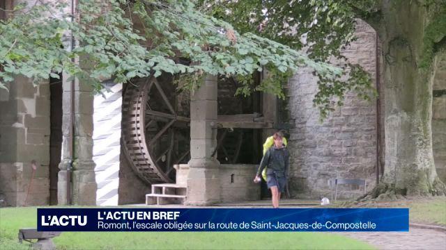 Romont, l'escale obligée sur la route de Saint-Jacques
