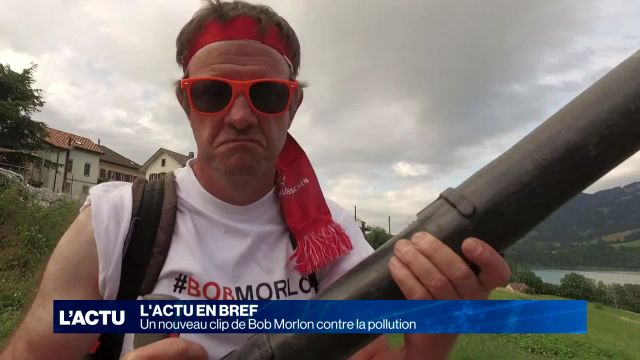 Un nouveau clip de Bob Morlon contre la pollution