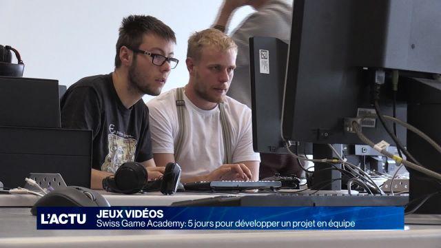 Cinq jours pour créer et développer un jeu vidéo en équipe