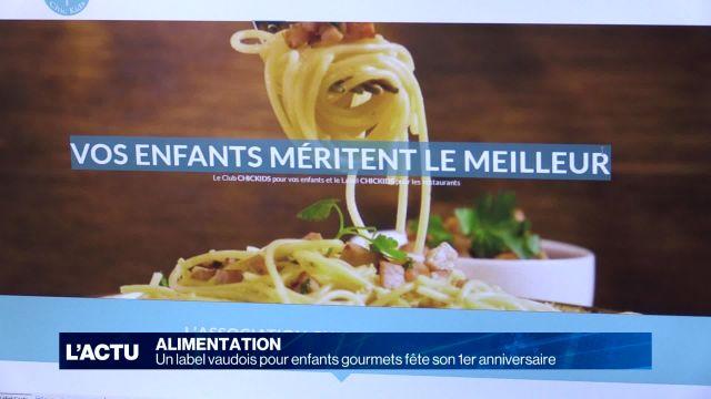 Un label vaudois pour enfants gourmets fête ses un an