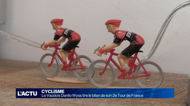 Cyclisme: Danilo Wyss tire le bilan de son 2e Tour de France