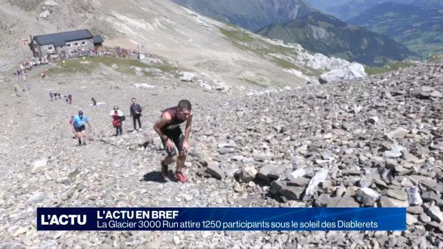 Succès pour la Glacier 3000 Run