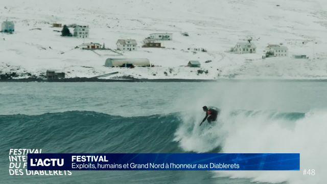 Les films alpins à l'honneur cette semaine aux Diablerets