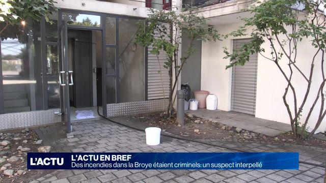 Un suspect interpellé pour l'incendie de Dompierre