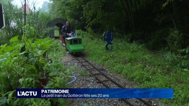 Le Petit train du Gottéron fête ses 20 ans