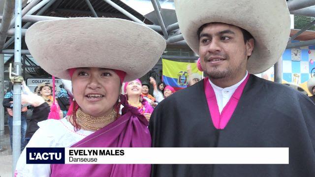 L'Équateur participe aux Rencontres de Folklore à Fribourg