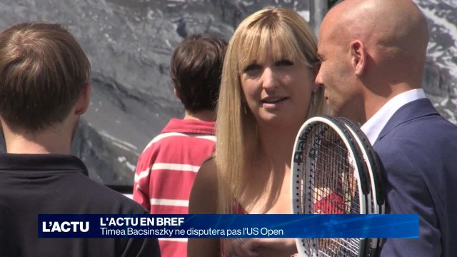 Timea Bacsinszky ne disputera pas l'US Open