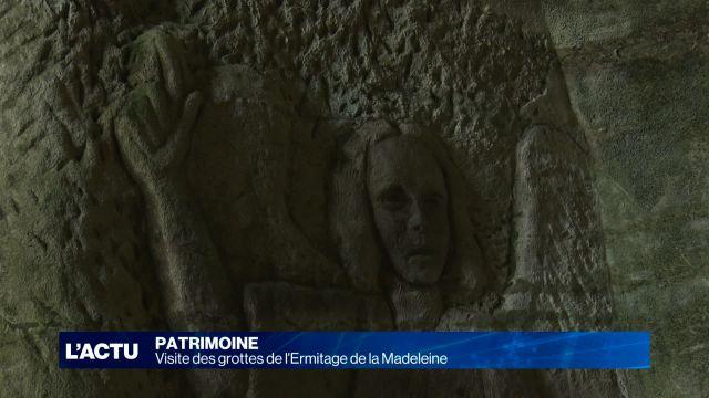 Visite des grottes de l'Ermitage de la Madeleine
