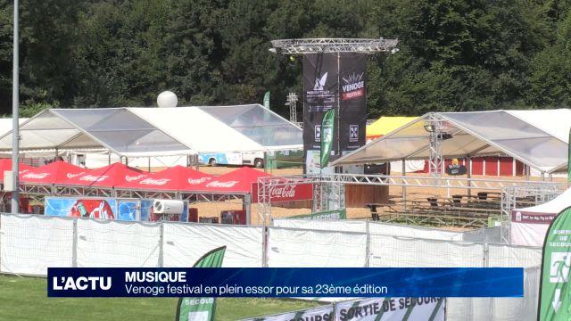 Le Venoge Festival en plein essor pour sa 23e édition