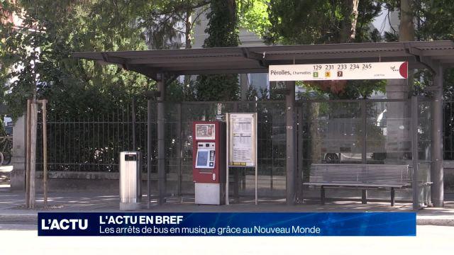 Les arrêts de bus en musique grâce au Nouveau Monde